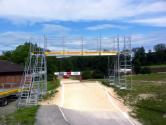 Überführung für BMX Rennen